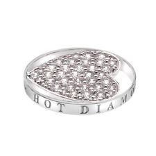 Emozioni Ice Sparkle Heart Coin 25mm Ec366