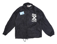 Cardinal Mens Size M Graphic Black Soft Shell Jacket