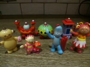 In the night garden toys bundle.