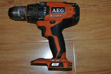 AEG BSB 18B 18V Cordless Brushless Percussion Hammer Drill Driver-Skin Only/ G C