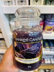 Yankee Candle Dried Lavender Oak Large Jar