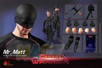 HOT HEART 1/6 The Dark Warrior Daredevil Mr. Matt Action Figure Toy In Stock New