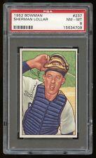 1952 Bowman #237 Sherman Lollar *White Sox* PSA 8 NM-MT #15634709