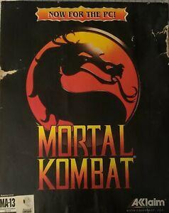 mortal kombat pc 1993