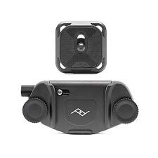 UK stock Peak DESIGN Guinzaglio Nero Fumo Nero Fotocamera Cinghia # L-BL-3 nuovo con scatola