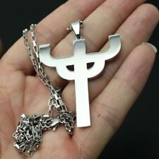 Judas Priest Necklace Stainless Steel Hot Men Favorite Pendant merch logo symbol