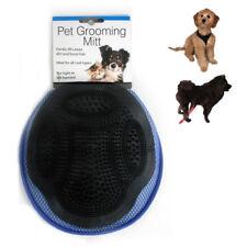 1 Grooming Mitt Cat Dog Rabbit Massage Pet Bath Hair Fur Glove Brush Comb Scrub