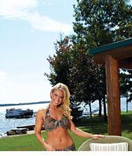Mossy Oak Camo Bikini Top, Halter Swim Camouflage