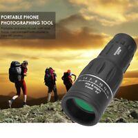 40X60 HD Optical Monocular Telescope Dual Focus Day Night Vision Outdoor Hiking