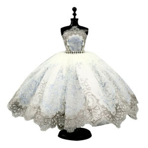 Classical Ballet Dress Party Gown Dresses For 1/6 Doll Clothes Doll Accessories