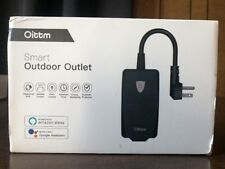 Oittm Outdoor Wi-Fi Smart Plug Outlet  IP44 Weatherproof Smart