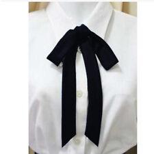 Women Neck Tie Bow Tie Professional Uniform Neckties Female Colleague Bank Staff