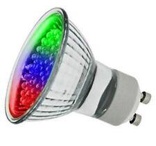 LED 1W 240V GU10 PAR16 Colour Changing RGB Spot Lamp Bulb