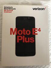 Motorola E4 Plus Verizon Prepaid Smart Phone