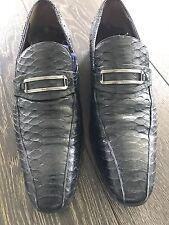 Salvatore Ferragamo Mens Python Skin Shoes
