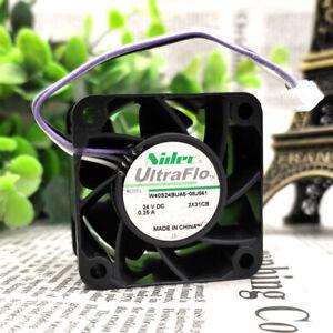 Nidec W40S24BUA5-08J561 4028 24V 0.25A 4-wire inverter cooling fan