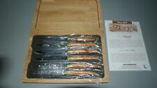 Laguiole en Aubrac 6x steak knives juniper-wood