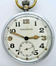 A Very Good Military Issue Jaeger-LeCoultre Pocket Watch 1940