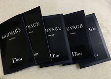 Dior Sauvage Parfum 5 X 1ml perfume samples ~ Brand NEW BUNDLE
