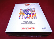PC DOS:  Transport Tycoon & World Editor - Microprose 1994 *Neu*