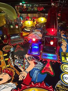 Axl Scoop Light for Guns N Roses Pinball - Interactive with Game Play