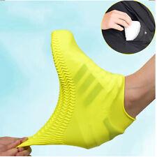 Silicone Overshoes Rain Waterproof Shoe Covers Protector Reusable USA