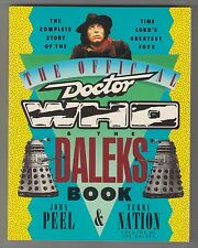 Official Doctor Who & Daleks Book ~ Peel & Terry Nation ~ St. Martin's Press