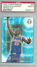 Amare Stoudemire 2002-03 Topps Pristine Rookie Refractor 1809/1899 PSA MINT 9