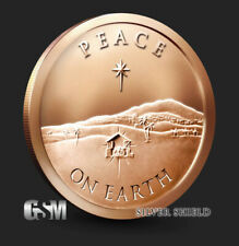 1 oz Copper Round - Peace on Earth