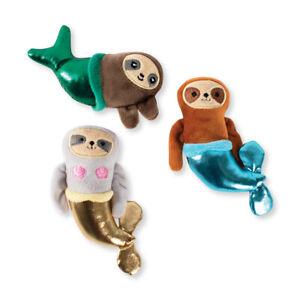 Fringe Studio Minis Metallic Mersloth 3-Piece Plush Dog Toy Set