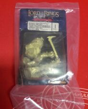 LORD OF THE RINGS BUHRDUR - TROLL CHIEFTAIN CHIEFTAN 11-51 BLISTER GW NEW SEALED