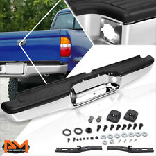 For 95-04 Tacoma OE Direct Replacement Stainless Steel Rear Step Bumper Chrome