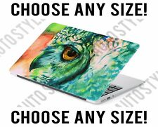 Owl Oil Painting Universal Laptop Skin Decal Sticker Tablet Skin Vinyl Cover