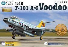 "Avion de combat US. McDONNELL F-101 ""VOODOO"" - KIT KITTY-HAWK 1/48 N° 80115"