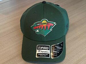 Minnesota Wild Fanatics NHL Authentic Pro Flex Fit Hat Men's Size M/L