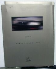 1996 Honda Acura Press Kit Media Release Integra GS-R LS NSX-T 3.2TL SLX