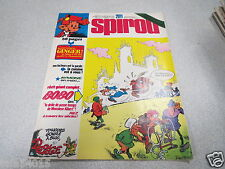 SPIROU MAGAZINE N° 2011 28 octobre 1976 + SUPPLEMENT *