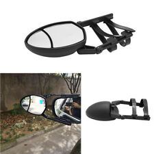 Adjustable Clip-On Extension Towing Mirror Dual View Black For Car Truck Trailer (Fits: Commercial Chassis)