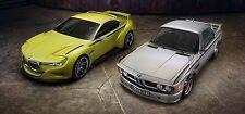 BMW CSL 3.0 - 30x14 pollici Canvas-Foto Incorniciata Stampa Wall Art