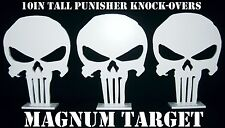 Steel Shooting Targets - Punisher Knockovers - 10.75in.x8in.Action Pistol Plates