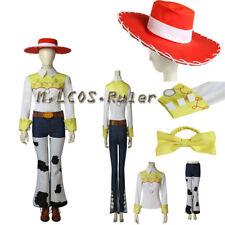 9f23f3e82047 Popular Toy Story Jessie Cosplay Costume Halloween Custom Made full set Hat