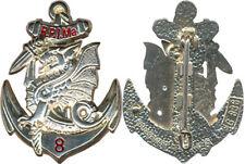 8° Régiment Parachutiste Infanterie de Marine,translucide argenté,Bous.836(5220)