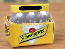 Dolls House Miniatures    Carton Of 6 Bottles Of Tonic Water  KA250