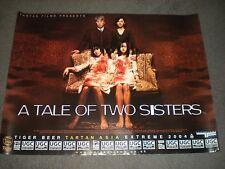 """TALE OF TWO SISTERS - ORIGINAL BRITISH QUAD - 30"""" X 40"""" - KIM JI-WOON"""