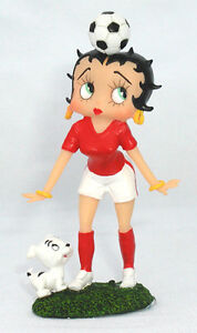 Betty Boop World Cup football miniature figurines SPECIAL OFFER