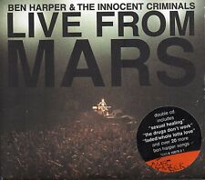 BEN HARPER & THE INNOCENT CRIMINALS-LIVE FROM MARS 2CD 25 TRACKS 2001 DIGIPAK
