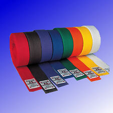 Budogürtel Kampfsport Karate Judo Budo Gürtel einfarbig DANRHO® Gr. 160-350