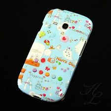 Samsung Galaxy S3 mini i8190 Silikon Case Handy Schutz Hülle Happy Day Etui
