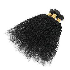 "Hot 3 Bundles18"" Brazilian Human Hair Extensions Deep Wave Weft Remy Weave 150G"