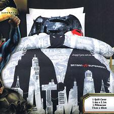 Batman v. Superman - Demon - Single/US Twin Bed Quilt Doona Duvet Cover Set